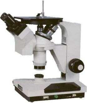 4XB双目倒置金相显微镜
